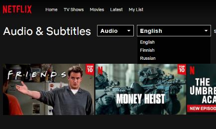 Netflix как искать фильмы на русском языке